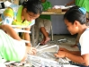 Gawad Kalinga beneficiaries hard at work