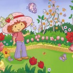 strawberry shortcake cartoon character