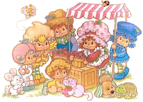 Strawberry Shortcake Characters