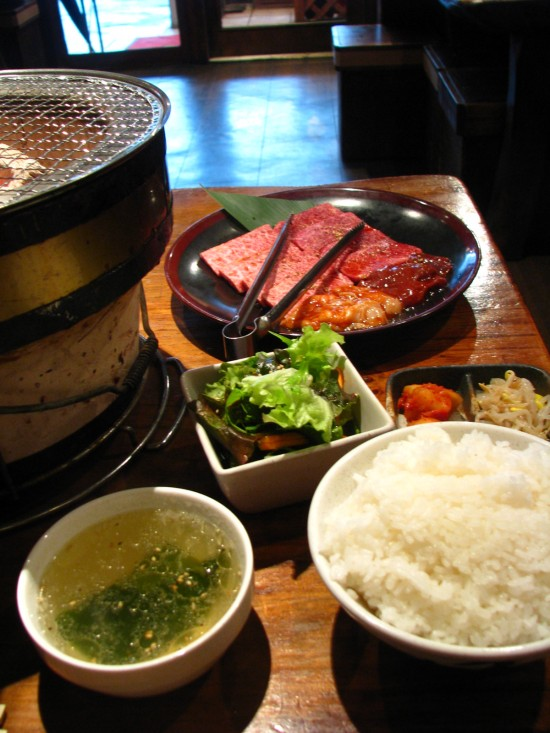 Grilled beef, Japanese style