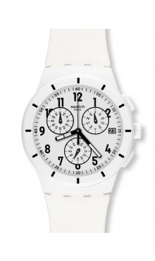 Swatch Twice Again White
