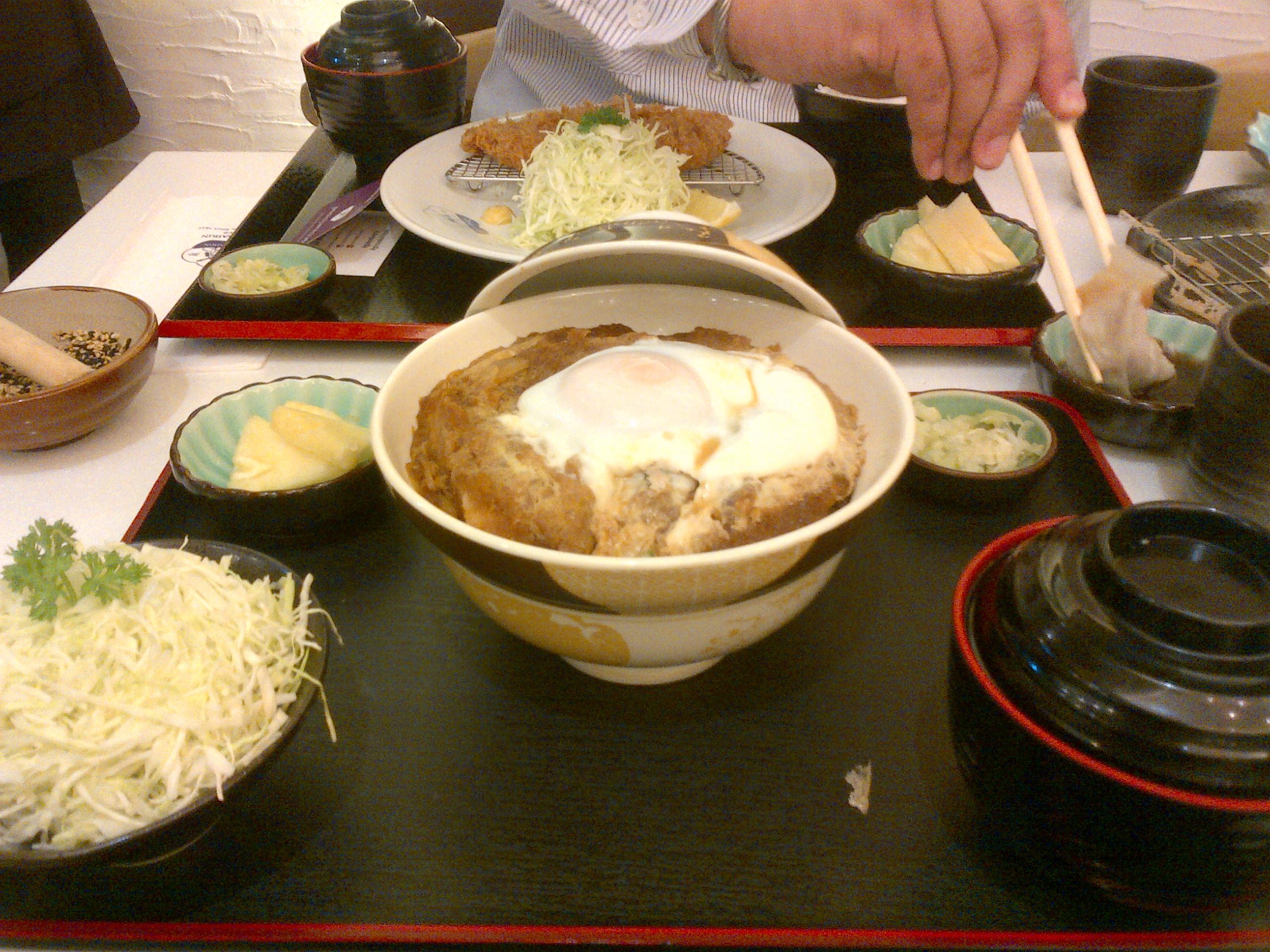 Ginza Bairin Katsudon Special Katsudon Set in Ginza